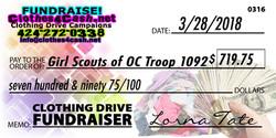 Girl Scouts of OC Troop 1092