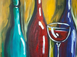 Painting-Classes-and-BYOB-Wine-in-Houston