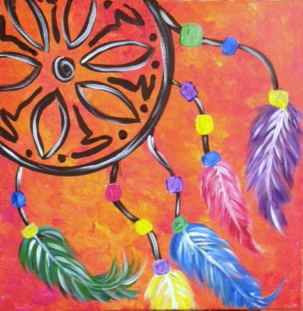 Dream-catcher-teen-paint-night