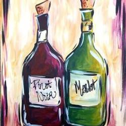 9a34a77253348a6b592dc4c8d32d65c9--wine-painting-canvas-paintings
