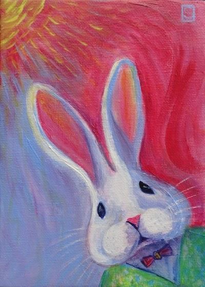 14070 - S - Sea Dean - Bobby Bunny -Acry