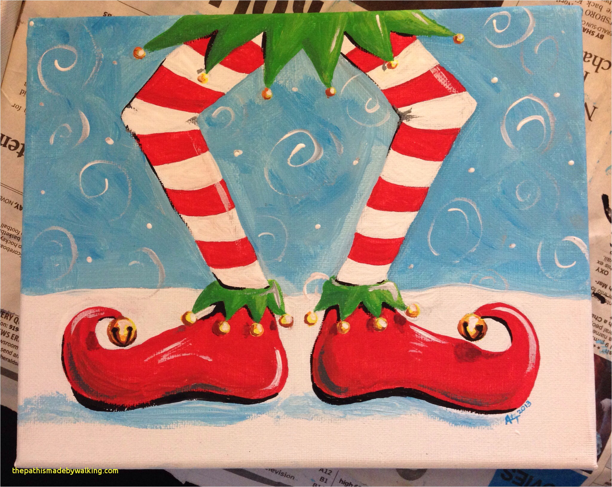easy-christmas-paintings-for-kids-awesom