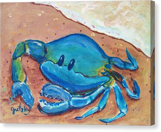 crab-on-the-beach-gretzky-canvas-print