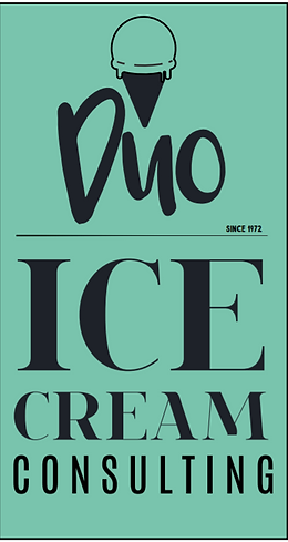 Duo ice cream consulting Logo