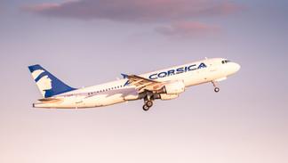 F-HZFM Air Corsica Airbus A320-200