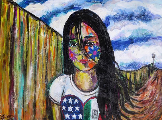 Border Girl/SOLD