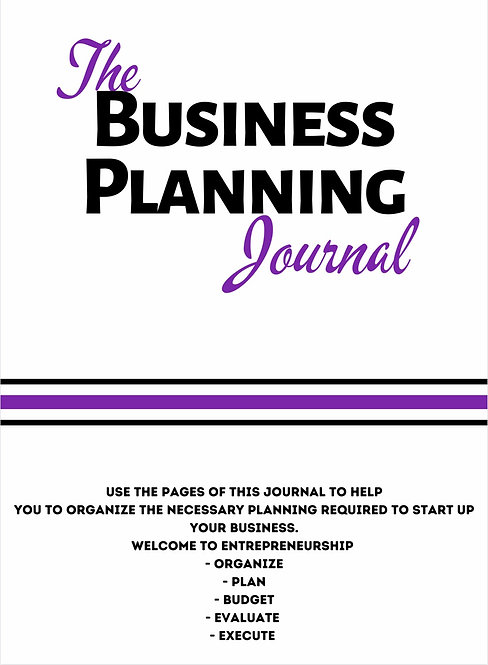 2021 Start-Up Business Planner