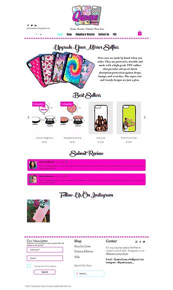 Website Design Cute & Simple Template