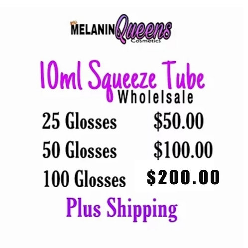 Wholesale Lipgloss : Squeeze Tubes