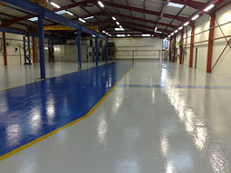 warehouse flooring epoxy