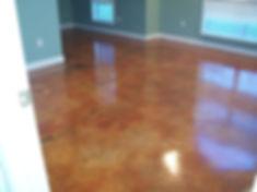 Concrete Stain floor