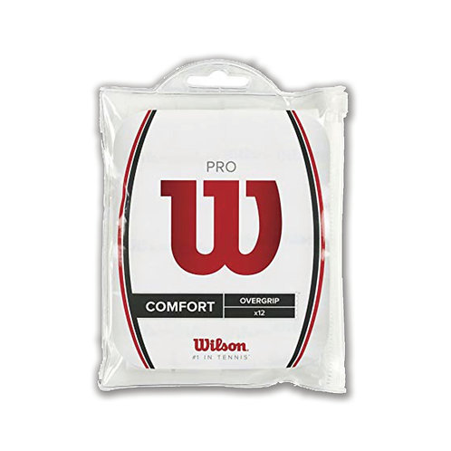 Wilson Pro Overgrip 12-pack White