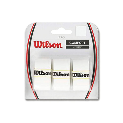 Wilson Pro Overgrip 3-Pack White