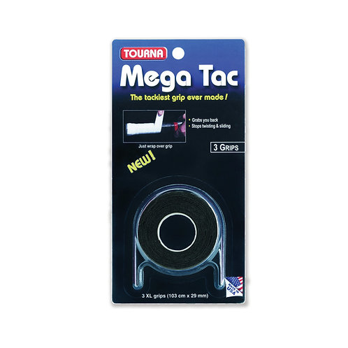 Tourna Mega Tac 3-Pack Black