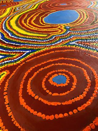 Warlu Tjukurrpa by Jimmy Tchooga
