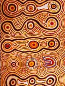 TJUKUKALYU by Jimmy Tjapangati Tchooga