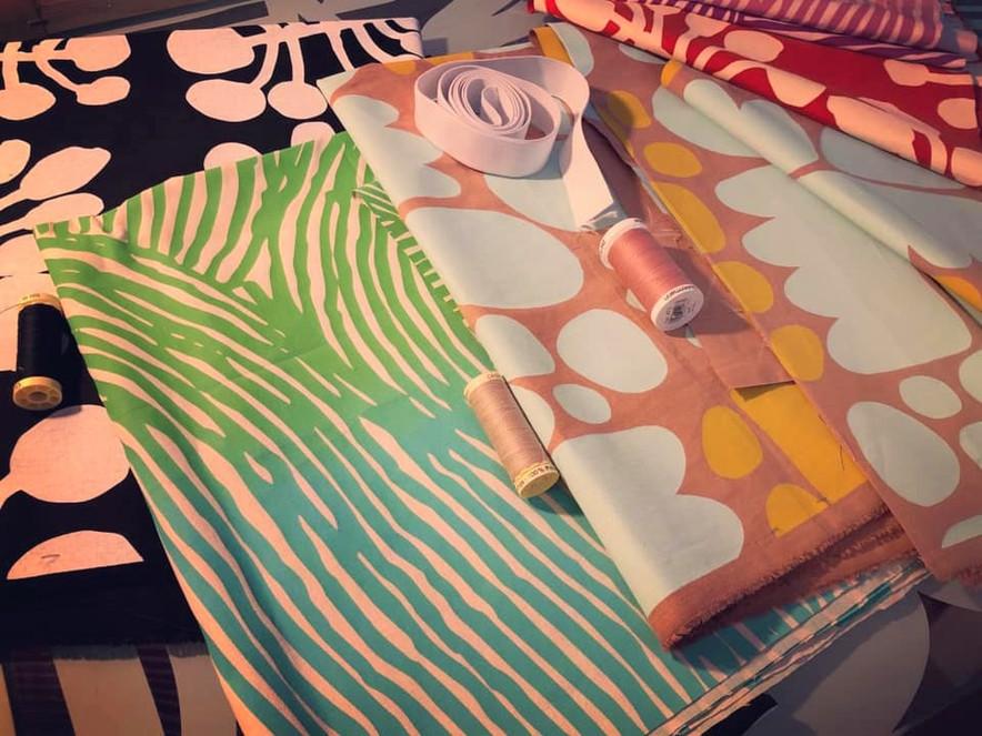 Laure Niveau gallery - Indigenous fabrics - Fashion