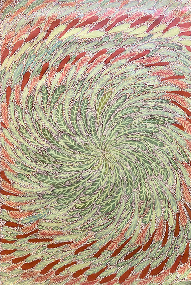 MALARN LEAVES by ANNE NANGALA OVI