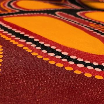 Mungai by Pauline Nangala Sunfly