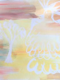 COCKATOO by Patsy Nakamarra Mudgedell