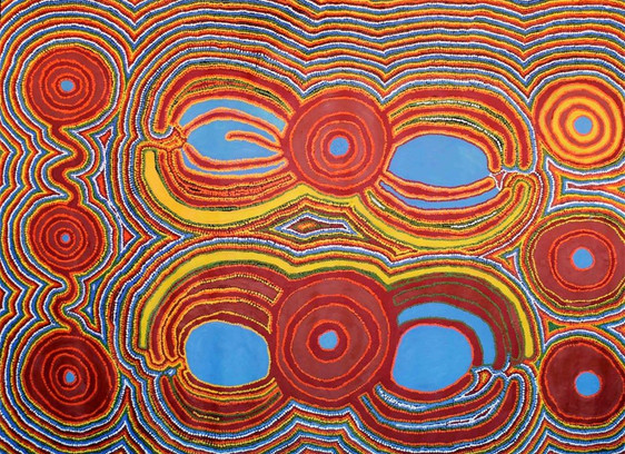 Warlu Tjukurrpa by Jimmy Tchooga