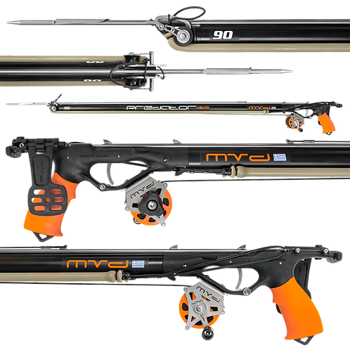 MVD Predator Zeso 90 Roller Speargun (Ready to Use)