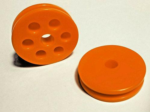 MVD Orange Invert Roller RAM/G3 wheels (pair)