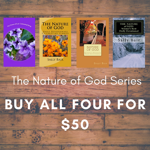 The Nature of God Series: Spring Summer Autumn Winter