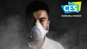 """La start-up AirBliss+® lance """"le masque anti-pollution le plus intelligent du monde"""""""