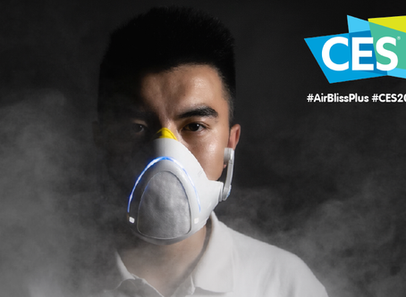 "La start-up AirBliss+® lance ""le masque anti-pollution le plus intelligent du monde"""