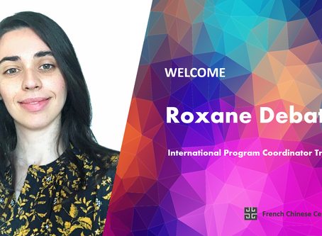We are pleased to welcome Roxane Debat as our new International Program Coordinator Trainee
