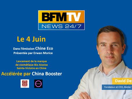 Sainte-Victoire, la marque cosmétique Bio Aixoise, annonce son lancement en Chine sur BFM TV