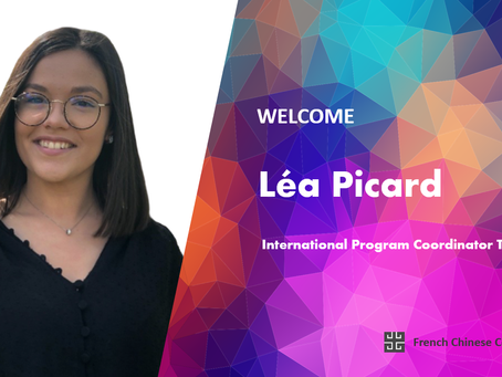 We are pleased to welcome Léa Picard as our new International Program Coordinator Trainee