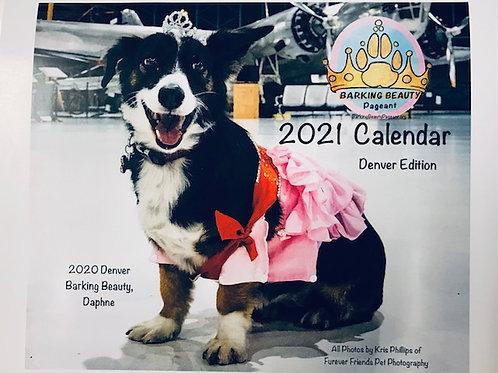 Denver Edition of the 2021 Barking Beauty Calendar