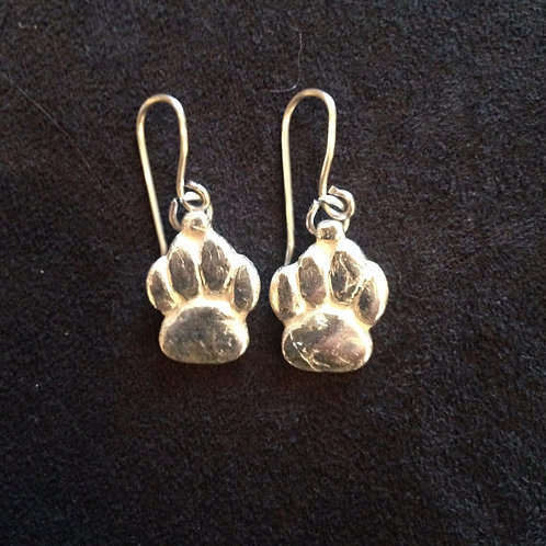 Handcrafted Paw Print Charms
