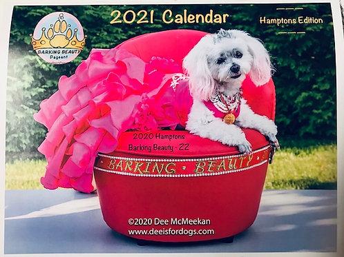 Hamptons Edition of the 2021Barking Beauty Calendar