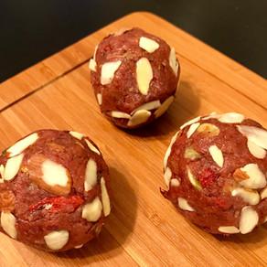 Almond Goji Berry Protein Ball