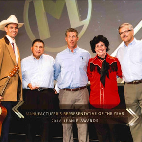 Action Sales named as Mid-States Manufacturers' Representatives of the Year for 2018.