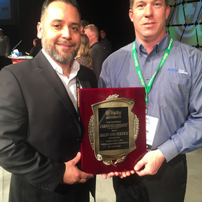 Action Sales Awarded by O'Reilly Auto Parts