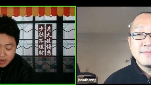 週二(23/3)接受遵理學校理財P牌學神 Andy Yeung的訪問