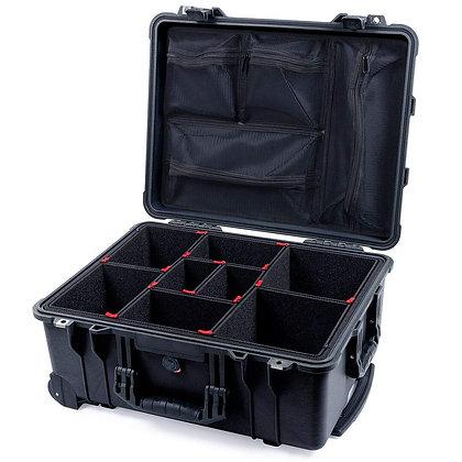Black Pelican 1560 Case W/ TrekPak Divider System