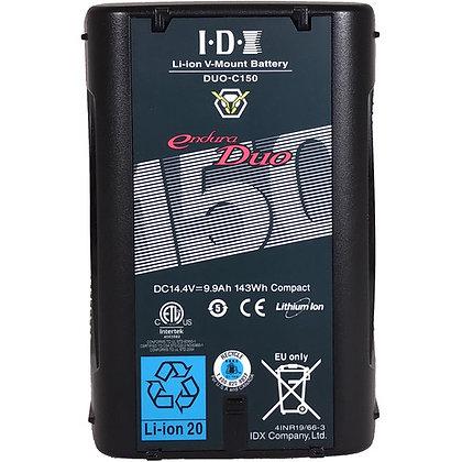 IDX System Technology DUO-150 V-Mount Battery