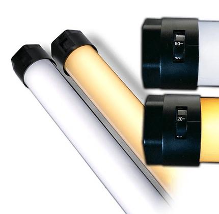 Quasar Tubes Q-LED X CrossFade Linear Lamp Bulb 2ft T12 120VAC