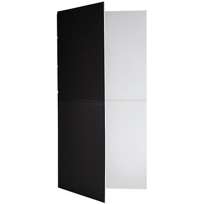 Foldable V-Flat (Black/White)