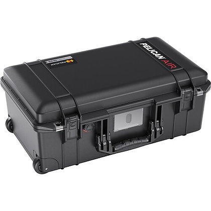 Pelican 1535AirTP Wheeled Carry-On Hard Case with TrekPak Divider Insert