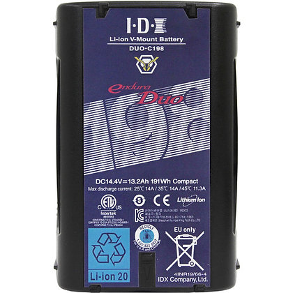 IDX System Technology DUO-C198 191Wh High-Load Battery