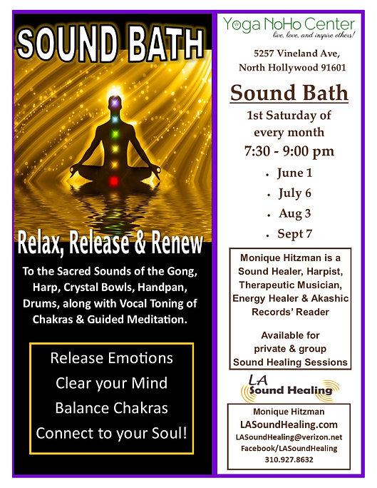 Events LA Sound Healing with Monique Hitzman in Los Angeles