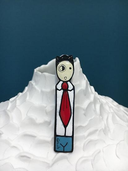 Peytour-Quendolo «Broche totem»