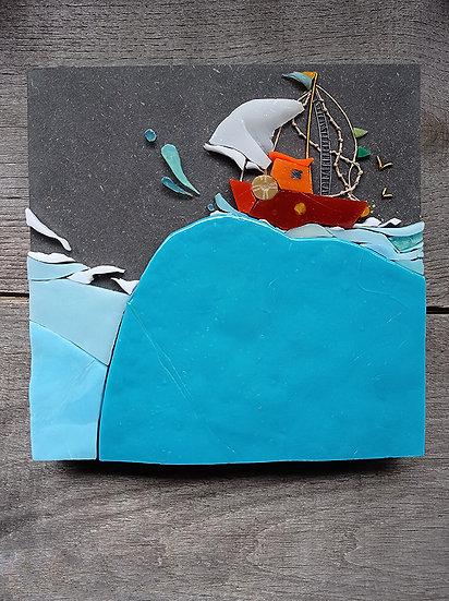 Michelle Combeau - Bateau de pêche