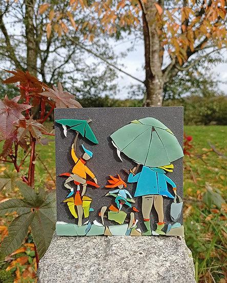 """Michelle Combeau - """"Sous la pluie"""""""